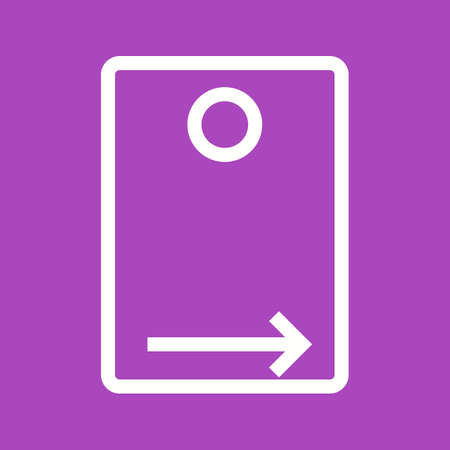 rear: Camera, rear, mobile icon vector image. Can also be used for picture editing. Suitable for use on web apps, mobile apps and print media.