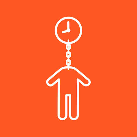 chances: Time, money, timeout icon vector image. Can also be used for humans. Suitable for use on web apps, mobile apps and print media.