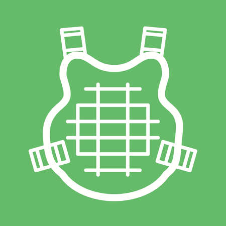 bulletproof: Bulletproof, bullet, equipment icon vector image. Can also be used for games & entertainment. Suitable for use on web apps, mobile apps and print media.