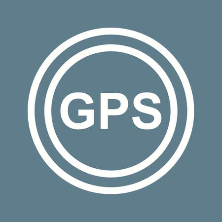 tracking: GPS, navigation, tracking icon vector image. Can also be used for maps & navigation. Suitable for mobile apps, web apps and print media.