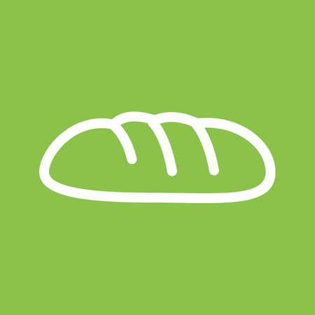yeast: Bread, loaf, rolls icon vector image. Can also be used for bakery. Suitable for use on web apps, mobile apps and print media.