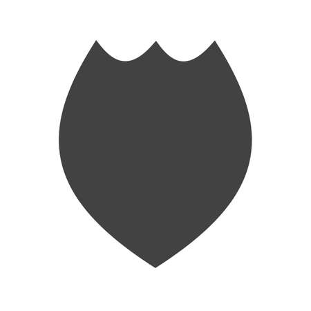enforcement: Badge, police, officer icon vector image.Can also be used for security. Suitable for web apps, mobile apps and print media.