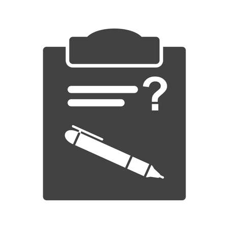 schooling: Question, problem, mark icon vector image. Can also be used for schooling. Suitable for use on web apps, mobile apps and print media. Illustration