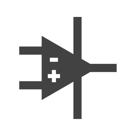 operational: Amplifier, technology, operational icon vector image. Can also be used for electric circuits. Suitable for use on web apps, mobile apps and print media.