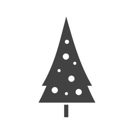 snowy hill: Snow, tree, hill icon vector image. Can also be used for winter. Suitable for use on web apps, mobile apps and print media. Illustration