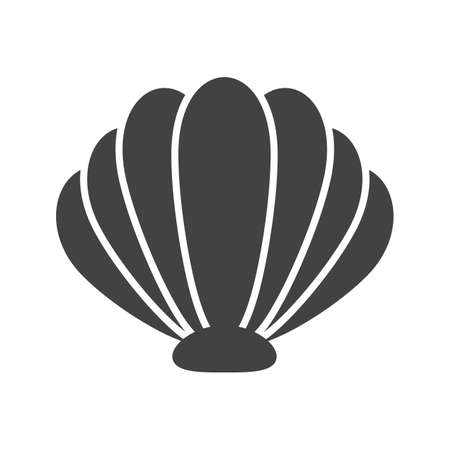 Sea, shell, beach icon vector image. Can also be used for sea. Suitable for use on web apps, mobile apps and print media. Ilustracje wektorowe