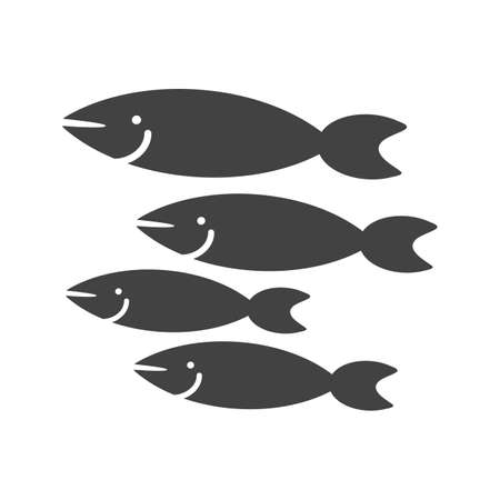 Fish, shark, small icon vector image. Can also be used for sea. Suitable for use on web apps, mobile apps and print media.