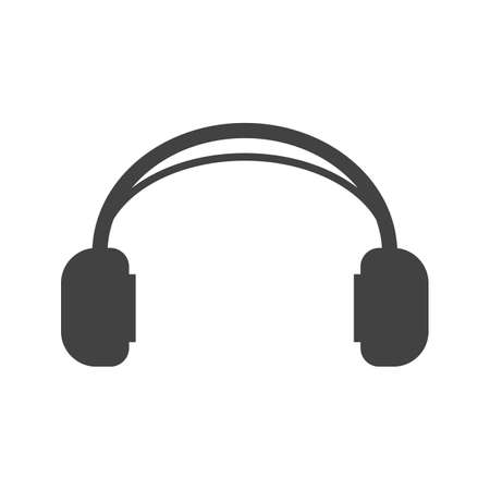 earphones: Headphones, audio, earphones icon vector image. Can also be used for hipster. Suitable for use on web apps, mobile apps and print media.