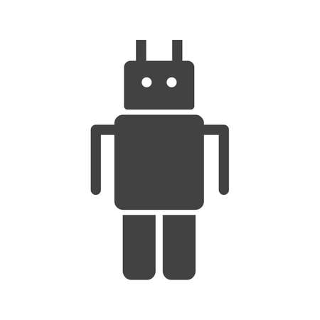 robot face: Robot, model, face icon vector image.Can also be used for astronomy. Suitable for use on web apps, mobile apps and print media.