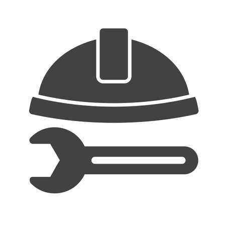 box construction: Tools, box, construction icon vector image. Can also be used for tools. Suitable for use on web apps, mobile apps and print media.