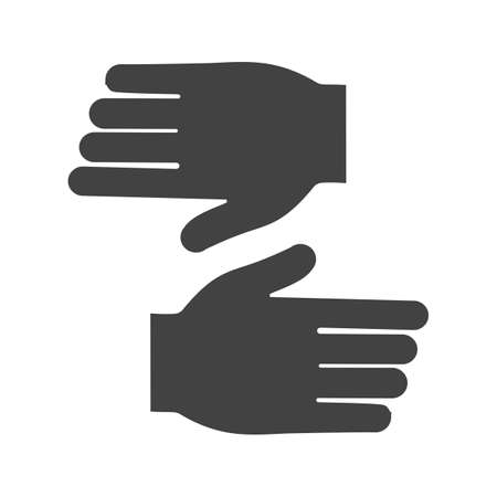 leather gloves: Leather, gloves, winter icon vector image.Can also be used for tools. Suitable for mobile apps, web apps and print media.