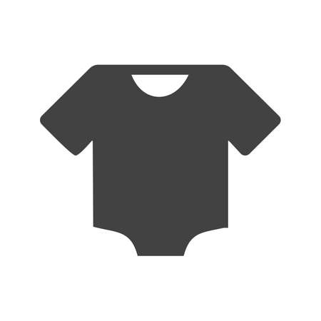 Baby, shirt, clothes icon vector image. Can also be used for baby. Suitable for use on web apps, mobile apps and print media. Illustration