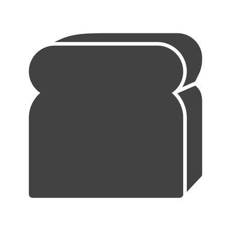 bake: Bread, bake, sliced icon vector image. Can also be used for bakery. Suitable for use on web apps, mobile apps and print media.