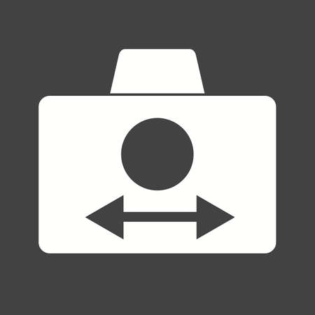 auto focus: Mode, camera, video icon vector image. Can also be used for picture editing. Suitable for use on web apps, mobile apps and print media.
