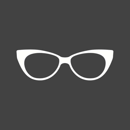eye glasses: Glasses, eye, sun icon vector image.Can also be used for hipster. Suitable for mobile apps, web apps and print media.