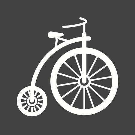 bicycle wheel: Bicycle, bike, sport icon vector image. Can also be used for hipster. Suitable for use on web apps, mobile apps and print media. Illustration