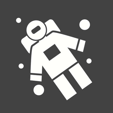 spaceman: Space, astronaut, spaceman icon vector image.