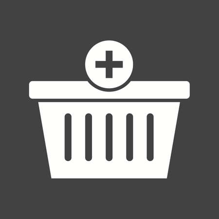 purchase: Basket, buy, purchase icon vector image.