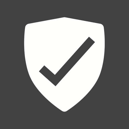 protection icon: Shield, security, protection icon vector image.Can also be used for security. Suitable for mobile apps, web apps and print media.