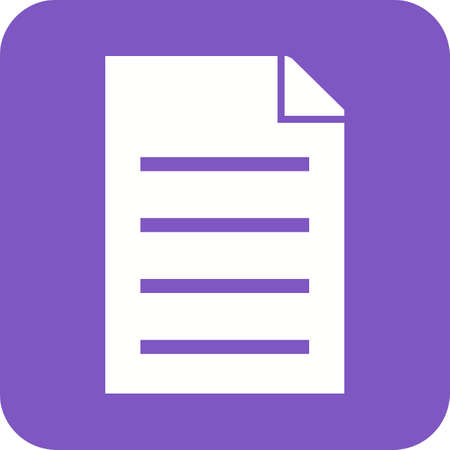 filing document: File, attach, pdf icon vector image.Can also be used for text editing. Suitable for mobile apps, web apps and print media. Illustration