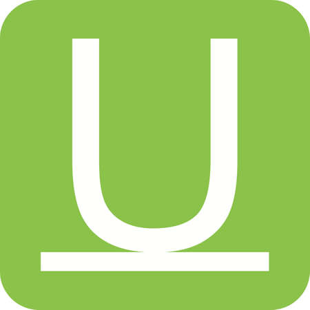 underline: Underline, stroke, line icon vector image. Can also be used for text editing. Suitable for use on web apps, mobile apps and print media.