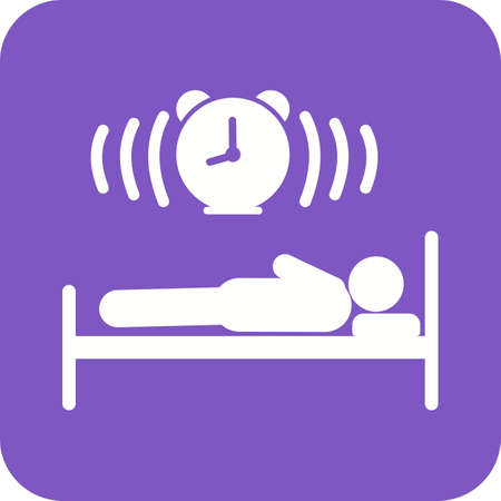 woman lying in bed: Sleeping, baby, bed icon vector image. Can also be used for humans. Suitable for web apps, mobile apps and print media.