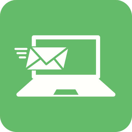 schooling: Email, mail, message icon vector image. Can also be used for schooling. Suitable for use on web apps, mobile apps and print media. Illustration