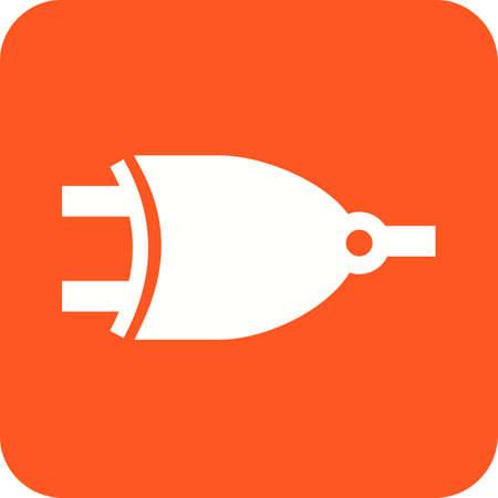 회로, 구성 요소, 전기 아이콘 벡터 이미지. 또한 전기 회로에 사용할 수 있습니다. 웹 앱, 모바일 앱 및 인쇄 매체에서 사용하기에 적합합니다.