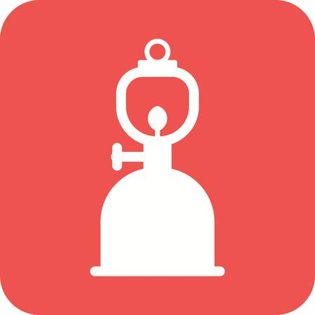 gas lamp: Lamp, gas, lantern icon vector image.Can also be used for sea. Suitable for mobile apps, web apps and print media.