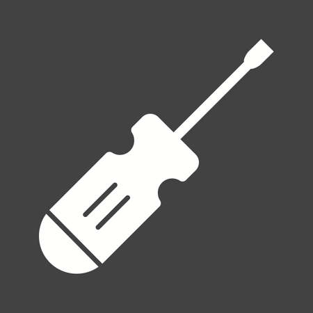 small tools: Screwdrivers, work, construction icon vector image. Can also be used for tools. Suitable for use on web apps, mobile apps and print media.