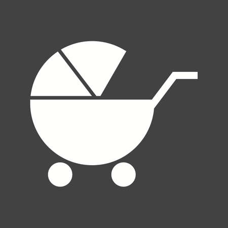 ni�o empujando: Cochecito de ni�o, beb�, imagen del vector del icono del cochecito. Tambi�n se puede utilizar para el beb�. Adecuado para su uso en aplicaciones web, aplicaciones m�viles y material de impresi�n. Vectores