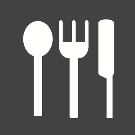 crockery: Baby, crockery, spoon icon vector image.Can also be used for baby. Suitable for mobile apps, web apps and print media. Illustration
