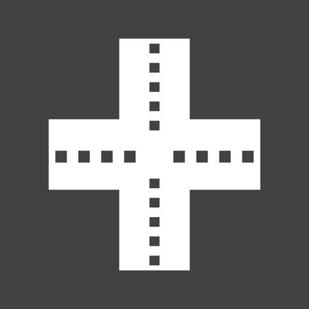 underpass: Highway, road, link icon vector image. Can also be used for maps & navigation. Suitable for mobile apps, web apps and print media.