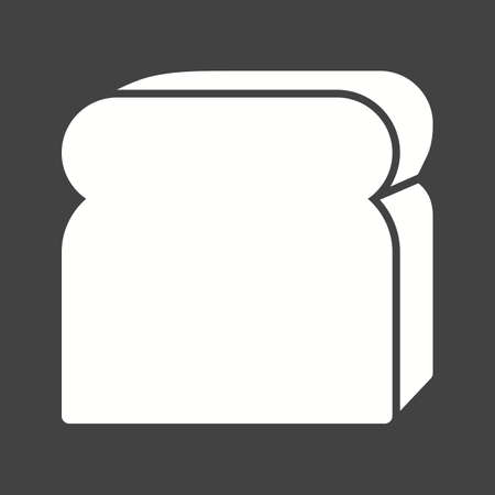 Bread, bake, sliced icon vector image. Can also be used for bakery. Suitable for use on web apps, mobile apps and print media.