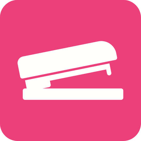 puncher: Stapler, office, bind icon vector image.Can also be used for stationery. Suitable for mobile apps, web apps and print media. Illustration