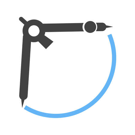 scale icon: Measurement, science, compass icon vector image.Can also be used for astronomy. Suitable for use on web apps, mobile apps and print media.