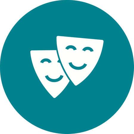 ni�os actuando: Teatro, actuaci�n, la imagen del vector icono del cine. Tambi�n se puede utilizar para la diversi�n al aire libre. Adecuado para su uso en aplicaciones web, aplicaciones m�viles y material de impresi�n. Vectores