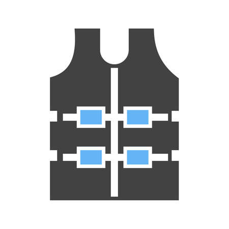 bulletproof vest: Bulletproof, police, vest icon vector image.Can also be used for security. Suitable for mobile apps, web apps and print media. Illustration