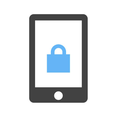 remote lock: Security, alarm, device icon vector image.Can also be used for security. Suitable for mobile apps, web apps and print media. Illustration