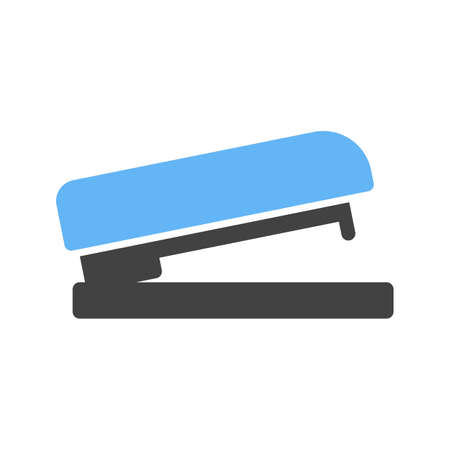 staplers: Stapler, office, bind icon vector image.Can also be used for stationery. Suitable for mobile apps, web apps and print media. Illustration