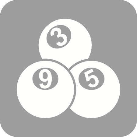 snooker tables: Snooker, table, balls icon vector image. Can also be used for games entertainment. Suitable for web apps, mobile apps and print media.
