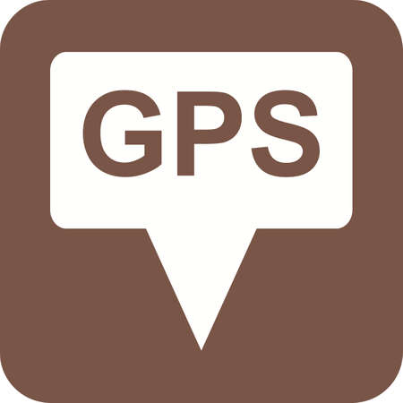 tracking: GPS, navigation, tracking icon vector image. Can also be used for maps navigation. Suitable for mobile apps, web apps and print media.