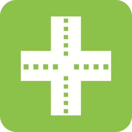 underpass: Highway, road, link icon vector image. Can also be used for maps navigation. Suitable for mobile apps, web apps and print media.