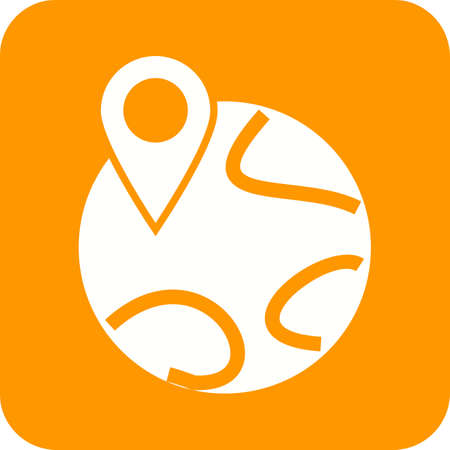 locate: World, map, locate icon vector image. Can also be used for maps navigation. Suitable for mobile apps, web apps and print media. Illustration