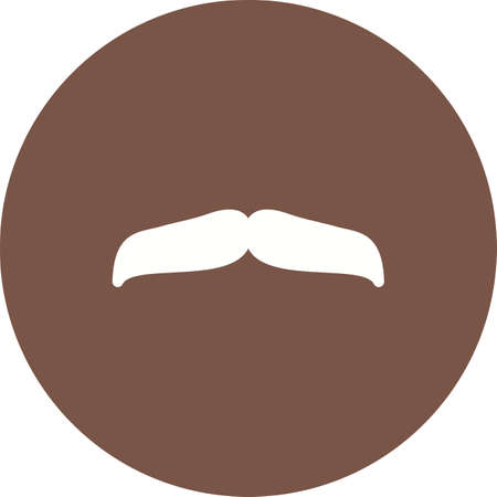 fake mask: Hipster, moustache, man icon vector image. Can also be used for hipster. Suitable for use on web apps, mobile apps and print media.