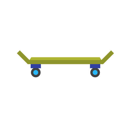 skateboard park: Skateboard, skateboarding, skate icon vector image. Can also be used for outdoor fun. Suitable for use on web apps, mobile apps and print media. Illustration