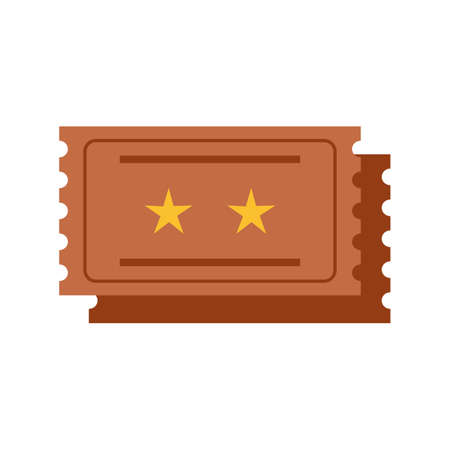 raffle: Movie, tickets, raffle icon vector image. Can also be used for outdoor fun. Suitable for use on web apps, mobile apps and print media.