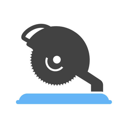 saw blade: Saw, electric, blade icon vector image.Can also be used for tools. Suitable for mobile apps, web apps and print media. Illustration
