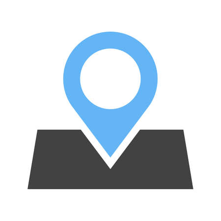 marked: Marked, roadmap, route icon vector image.Can also be used for maps navigation. Suitable for mobile apps, web apps and print media. Illustration