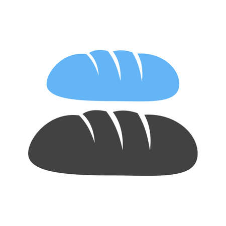 bread rolls: Bread, loaf, rolls icon vector image. Can also be used for bakery. Suitable for use on web apps, mobile apps and print media.